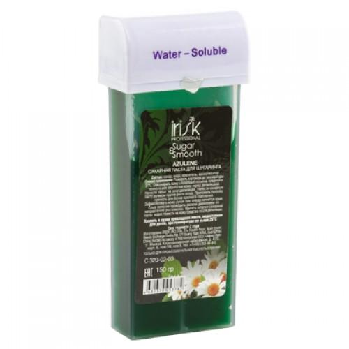Сахарная паста для шугаринга IRISK SUGAR & SMOOTH в картриджах, 150гр (азулен)