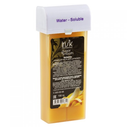 Сахарная паста для шугаринга IRISK SUGAR & SMOOTH в картриджах, 150гр (банан)