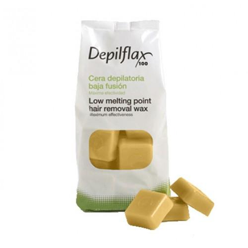 Воск горячий в брикетах Depilflax Золото Cera Oro 1 кг