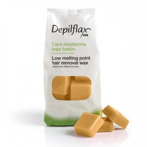 Воск горячий в брикетах Depilflax Натуральный Cera Natural 1 кг