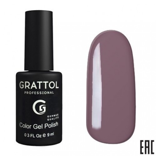Grattol Color Gel Polish Gray Violet GTС004