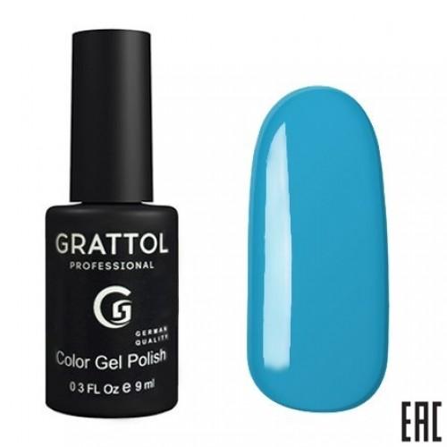 Grattol Color Gel Polish Sky Blue GTС014