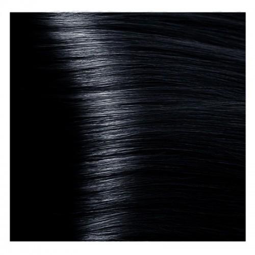 Kapous Magic Keratin крем-краска для волос «Non Amonnia», 1.1 иссиня-черный 100 мл