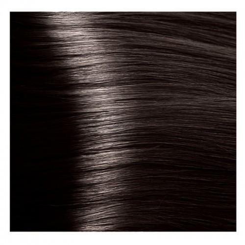 Kapous Magic Keratin крем-краска для волос «Non Amonnia», 3.0 Темно-коричневый 100 мл