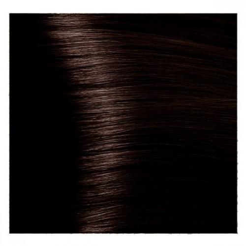 Kapous Magic Keratin крем-краска для волос «Non Amonnia», 3.53 Темно-коричневый терракотовый  100 мл