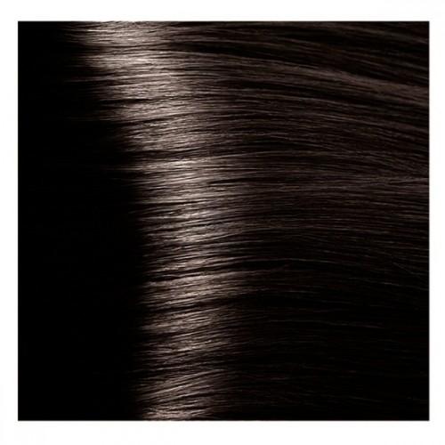 Kapous Magic Keratin крем-краска для волос «Non Amonnia», 4.00 Коричневый интенсивный 100 мл