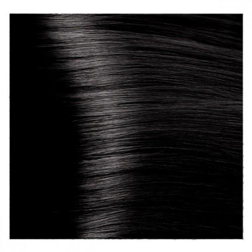 Kapous Magic Keratin крем-краска для волос «Non Amonnia», 4.18 Коричневый лакричный 100 мл