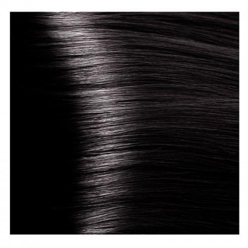 Kapous Magic Keratin крем-краска для волос «Non Amonnia», 4.81 Коричнево-пепельный 100 мл