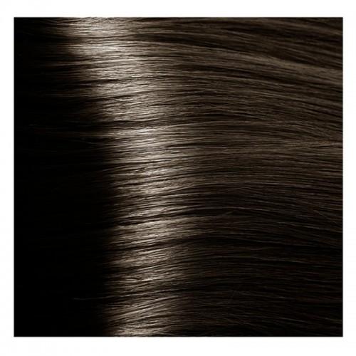 Kapous Magic Keratin крем-краска для волос «Non Amonnia», 5.07 Насыщенный холодный светло-коричневый 100 мл