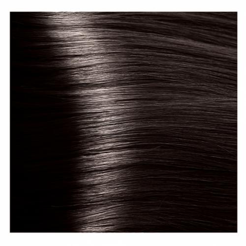Кapous Hyaluronic - Стойкая Крем-краска для волос HY 3.0 Темно-коричневый, 100 мл