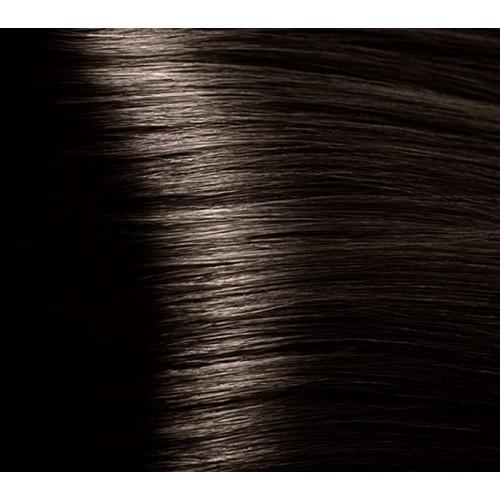 Кapous Hyaluronic - Стойкая Крем-краска для волос HY 4.0 Коричневый, 100 мл