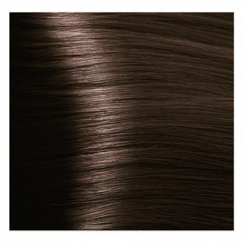 Кapous Hyaluronic - Стойкая Крем-краска для волос HY 4.3 Коричневый золотистый, 100 мл