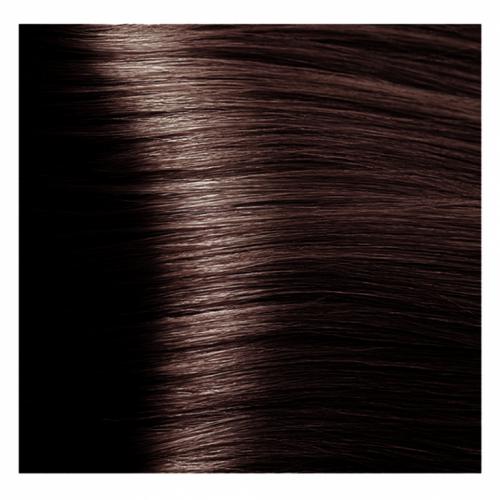 Кapous Hyaluronic - Стойкая Крем-краска для волос HY 4.4 Коричневый медный, 100 мл