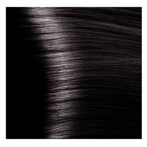 Кapous Hyaluronic - Стойкая Крем-краска для волос HY 4.8 Коричневый какао, 100 мл