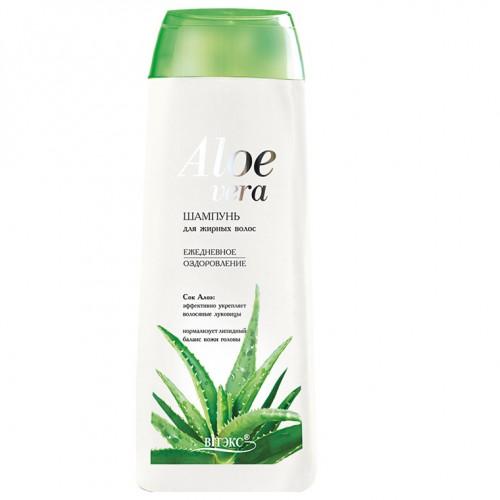 Aloe Vera Шампунь для жирных волос «Ежедневное оздоровление