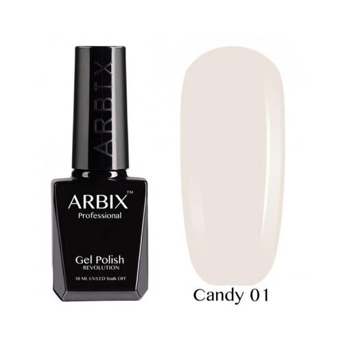Гель-лак Arbix Candy №01 10мл.