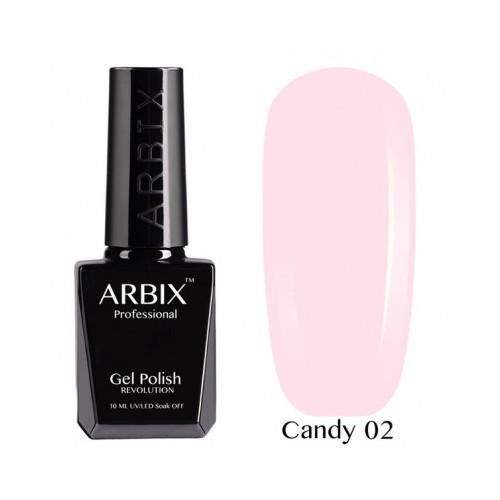 Гель-лак Arbix Candy №02 10мл.