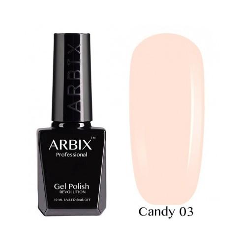 Гель-лак Arbix Candy №03 10мл.