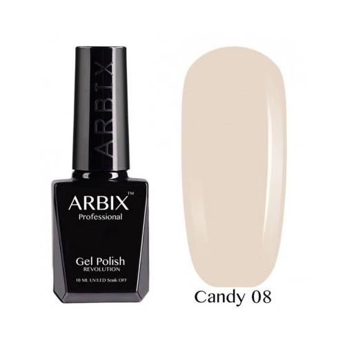Гель-лак Arbix Candy №08 10мл.
