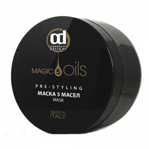"CD Маска ""5 Magic Oils"" для всех типов волос 500 мл."
