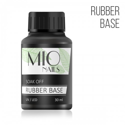 MIO Nails База каучуковая, RUBBER - 30 мл