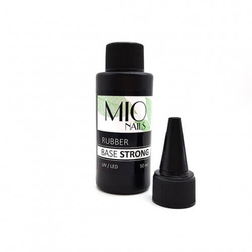 MIO Nails База каучуковая, STRONG - 50 мл