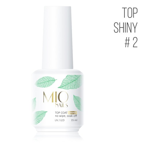 MIO Nails  Топ Shiny № 2 - 15 мл