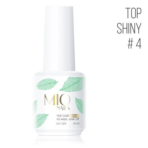 MIO Nails  Топ Shiny № 4 - 15 мл