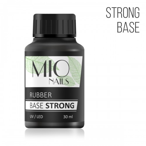 MIO Nails База каучуковая, STRONG - 30 мл