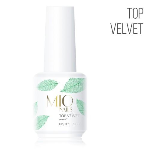 MIO Nails  Топ Velvet - 15 мл
