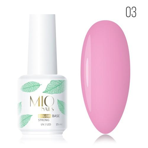 MIO Nails База COLOR № 03 - 15 мл