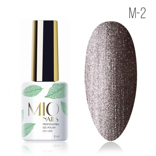 Гель-лак. Коллекция «Metallic» № 2 MIO Nails 8 мл