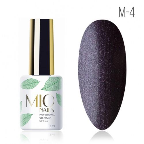 Гель-лак. Коллекция «Metallic» № 4 MIO Nails 8 мл