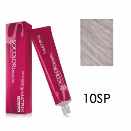 Matrix Socolor Beauty 10Sp Очень-очень светлый блондин серебристый жемчужный