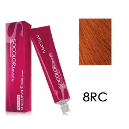 Matrix Socolor Beauty 8RC Cветлый блондин красно-медный