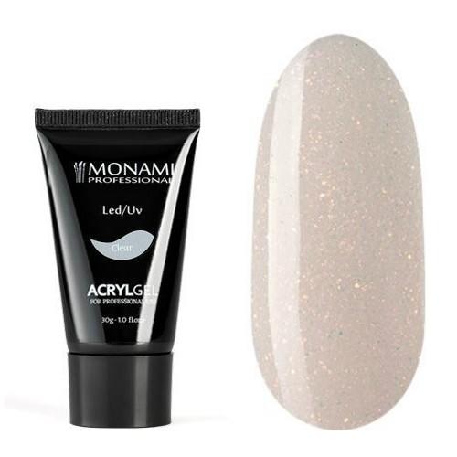 Monami, AcrylGel Natural Cover SHINE - Акрил-гель камуфлирующий с шиммером,,  30 гр