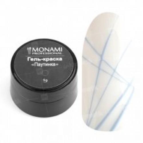 Гель-краска Паутинка голубая Monami 5 г