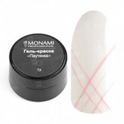 Гель-краска Паутинка розовая Monami 5 г