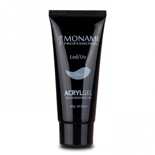 Monami, AcrylGel Clear - Акрил-гель прозрачный 60 гр