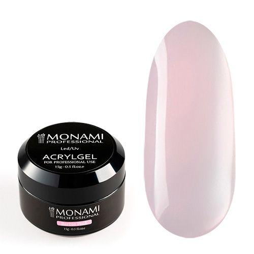 Monami, AcrylGel Barbie Pink - Акрил-гель камуфлирующий, розовый «Барби» 15 гр