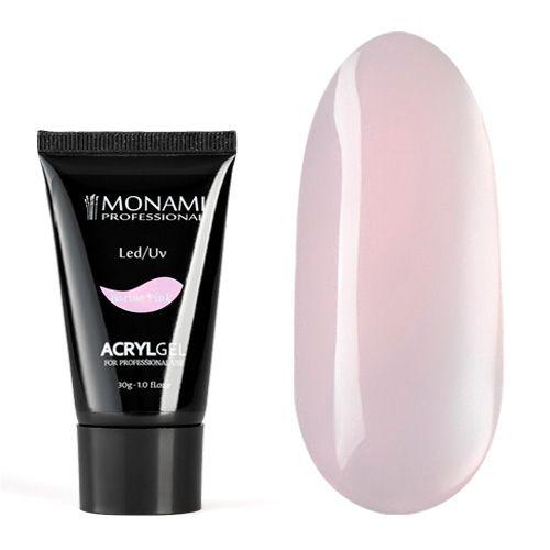Monami, AcrylGel Barbie Pink - Акрил-гель камуфлирующий, розовый «Барби» 30 гр