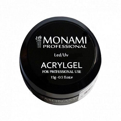 Monami, AcrylGel Clear - Акрил-гель прозрачный 15 гр
