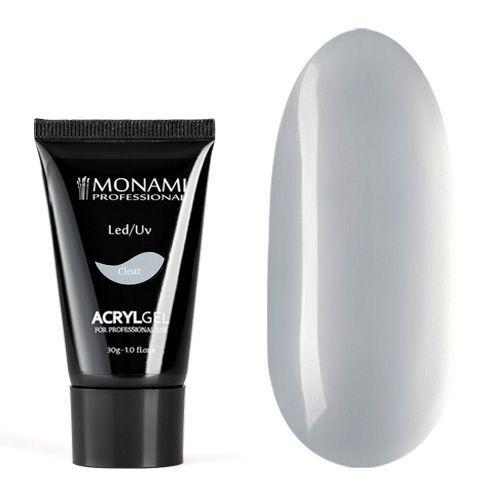 Monami, AcrylGel Clear - Акрил-гель прозрачный 30 гр
