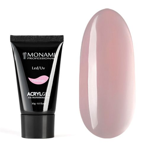 Monami, AcrylGel Flamingo - Акрил-гель камуфлирующий, розовый 30 гр