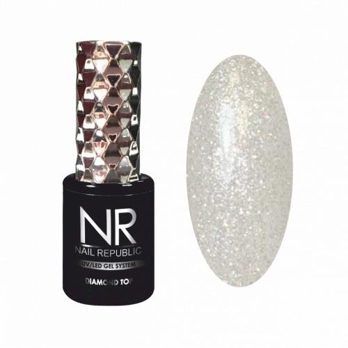 NR DIAMOND TOP с шиммером №1 (10 мл)