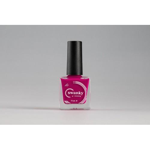 Swanky Stamping, Лак для стемпинга №005 - Розовый (10 мл)