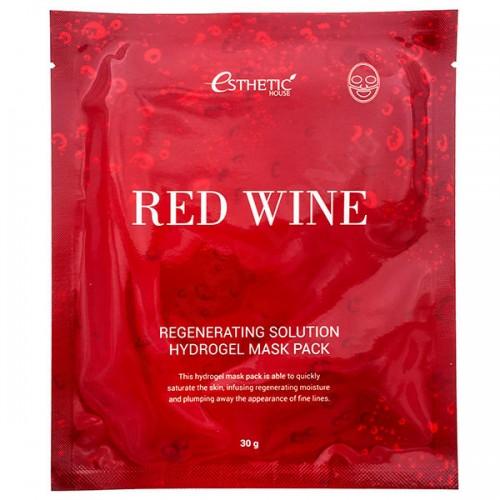 Esthetic House гидрогелевая маска Red Wine c экстрактом красного вина