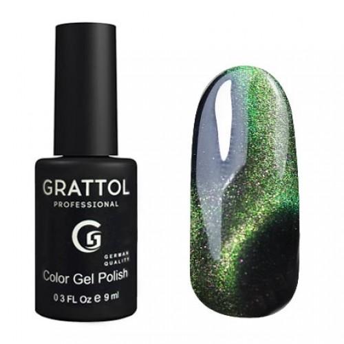 Grattol Color Gel Polish 9D CAT EYE 01