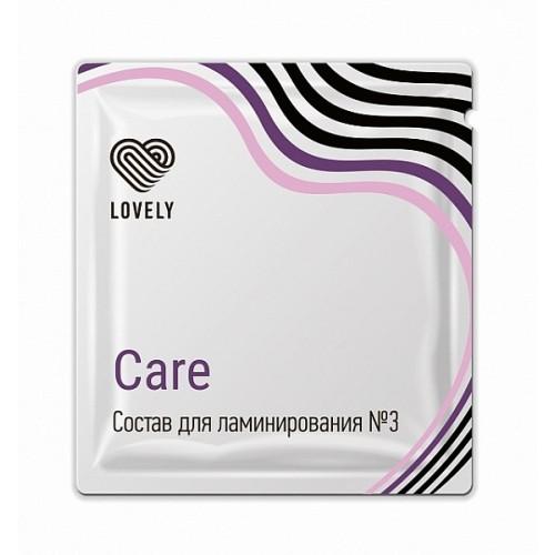 Состав для ламинирования №3 «Care» в саше, 1г