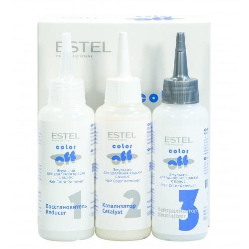 Эмульсия-смывка Estel Color Off для удаления стойких красок с волос